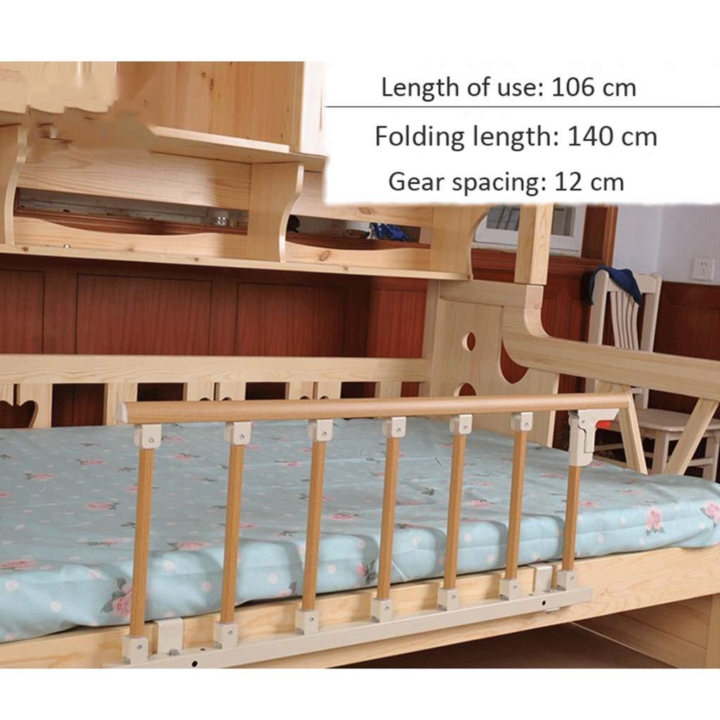 Farbe : Yellow LDG Bettgriff Sicherheits /& Hilfsgel/änder Klappbares Bettgitter Tragbares Bettgitter for /Ältere Menschen Babybett Aluminiumlegierung Size : 106x40CM