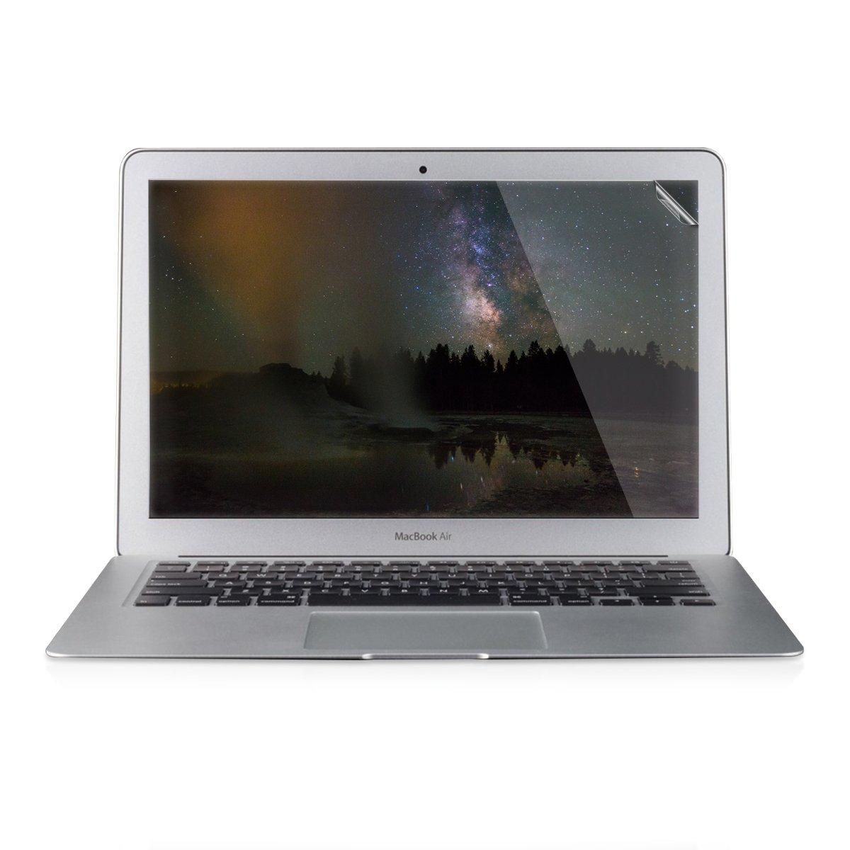kwmobile Protector de Pantalla cristalino para Apple MacBook Air 13(2011-mediados de 2018