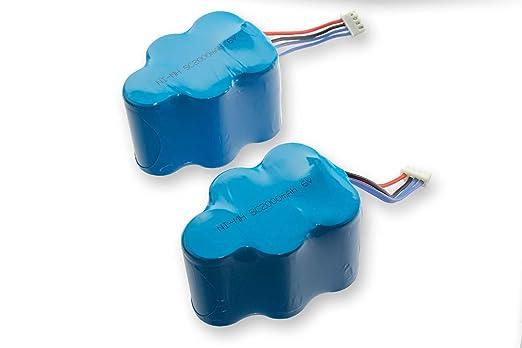 vhbw Batería NiMH 2000mAh (6V) para Robot aspidador doméstico Hoover RVC0010, RVC0011, RVC0011-001 como LP43SC3300P5.: Amazon.es: Electrónica