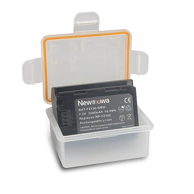 Amazon.com: NP-FZ100 - Batería y cargador para cámara ...