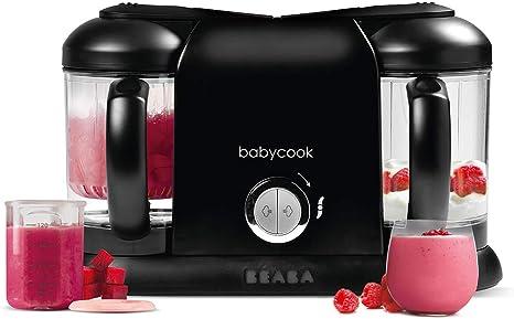 BÉABA, Babycook Duo Robot Bébé 4 en 1 Mixeur Cuiseur, Cuisson Vapeur rapide 15min , Diversification alimentaire, Petits pots bébé maison, Contenance