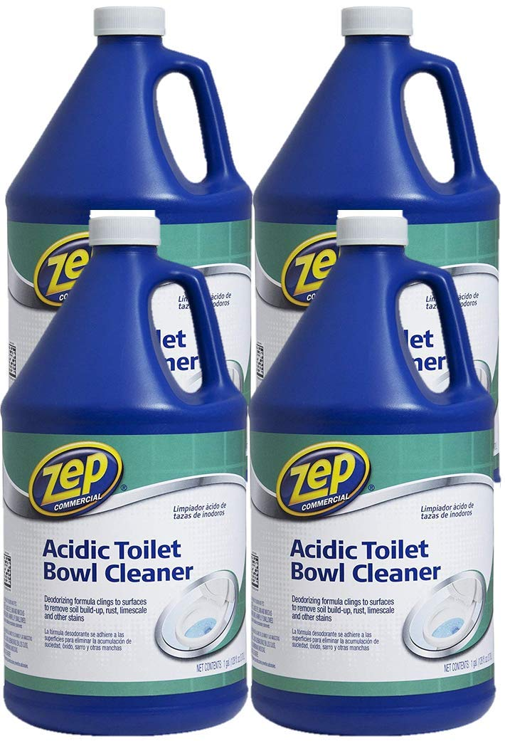 Zep Acidic Toilet Bowl Cleaner 128 Ounce ZUATB128 (Case of 4)