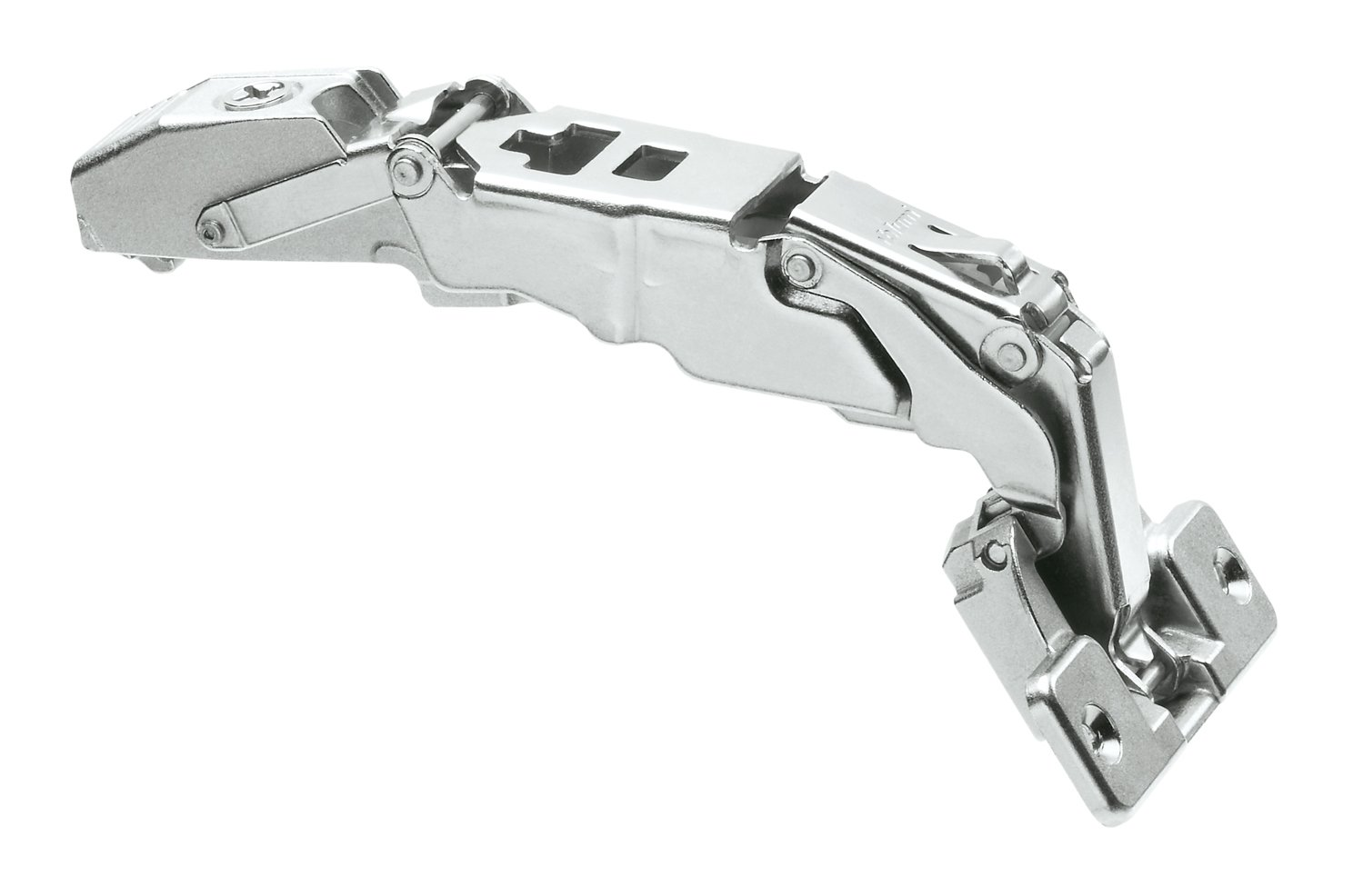 Pro Pack of 20Pcs, Clip Top 155D Zero Protrusion Hinge, Straight-Arm, Self Closing, Screw-On