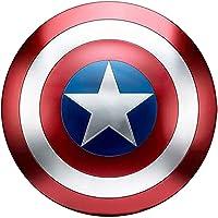 Escudo de Vestuario de Capitán América, Réplica De Marvel Prop,Capitán de América, Talla única para Adulto