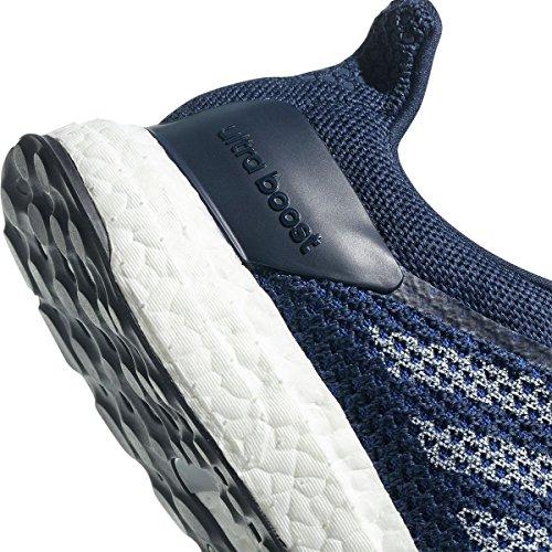 adidas Performance Herren Ultra Boost Street Laufschuh Edle Indigo / Schuhe Weiß