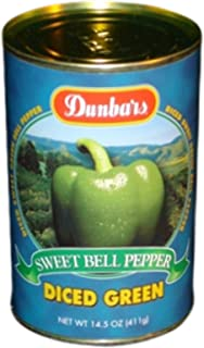 product image for Moody Dunbar Diced Green Peppers - 15 oz. can, 24 cans per case
