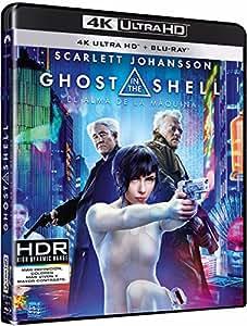 Ghost In The Shell: El Alma De La Maquina (4K UHD + BD) [Blu-ray]