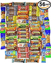 This Ultimate Snack Care Package contains the following HEALTY BARS and NUTS: 8 Nature Valley-Fruit&Nut Chewy Granola Bar (1.2 oz) 4 Quaker Chewy-Chocolate Chip Granola Bar (0.84 oz) 4 Quaker Chewy-Peanut Butter Chocolate Chip Granola Bar...