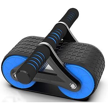 Qi Peng Rebote automático Rueda de ejercicios Equipo de gimnasia en el hogar para hombres Músculos