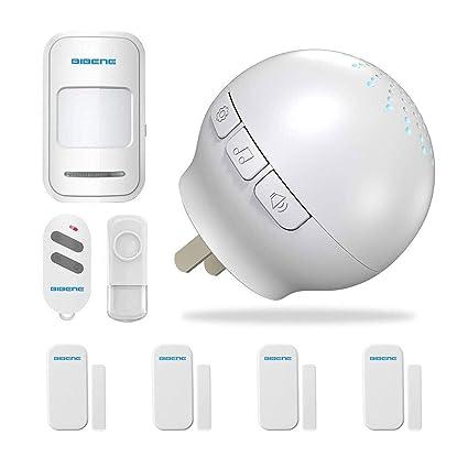 BIBENE WIFI Sistema de alarma de seguridad para el hogar, kit de bricolaje, alarma