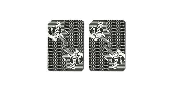 Amazon.com: Hard Rock auténtico Casino jugando a las cartas ...