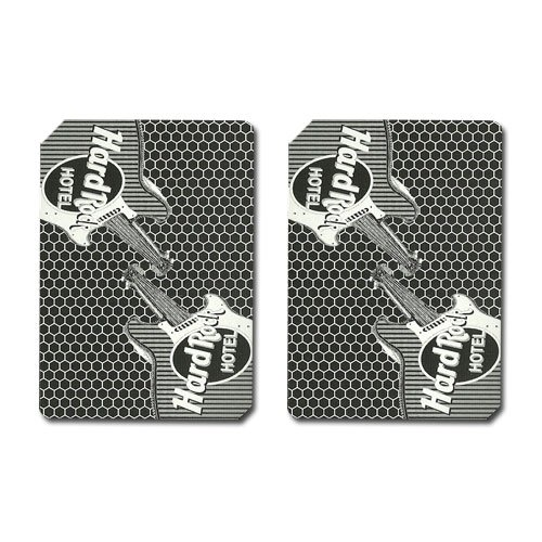 - Single Deck Used in Casino Playing Cards - Hard Rock
