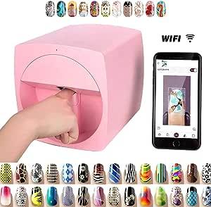 Portable 3D Digital Nail Art Printer Smart Nail Painting Machine Fast Nail Art Pattern Printer, DIY Multifunction Wifi Wireless Easy Business First Choice