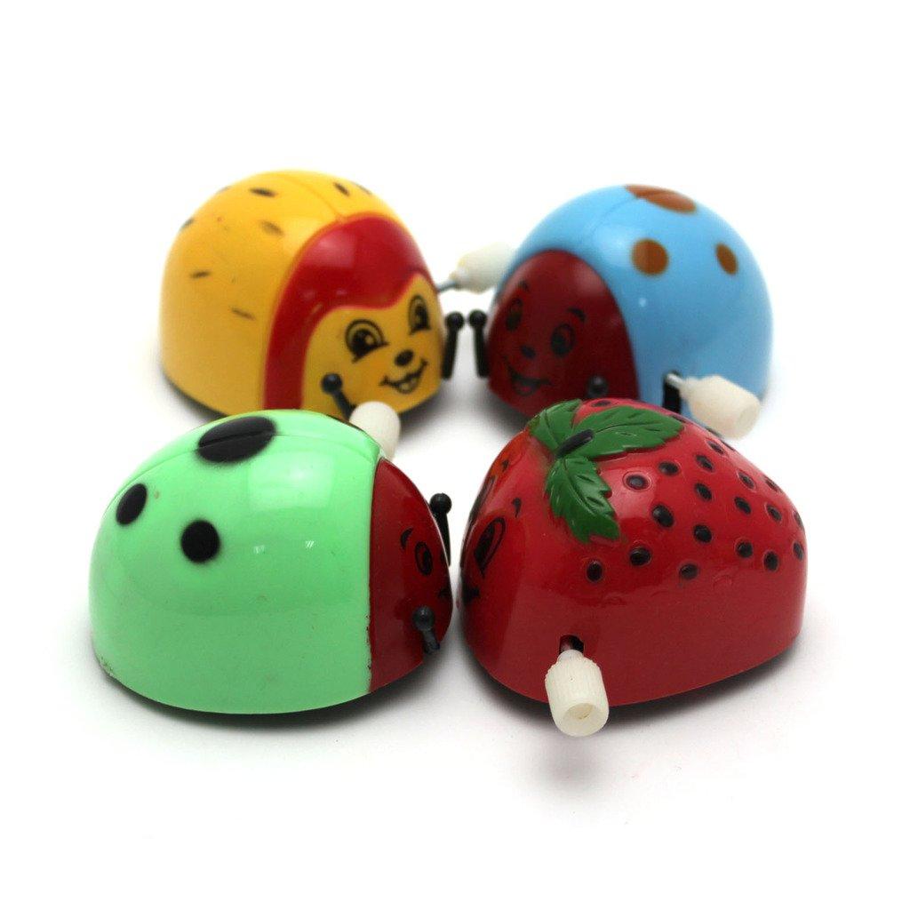Gogogo Marienk/äfer Design Lustiges Salto Laufen Aufziehbare Spielzeug Uhrwerk zuf/ällige Farbe 1 St/ück