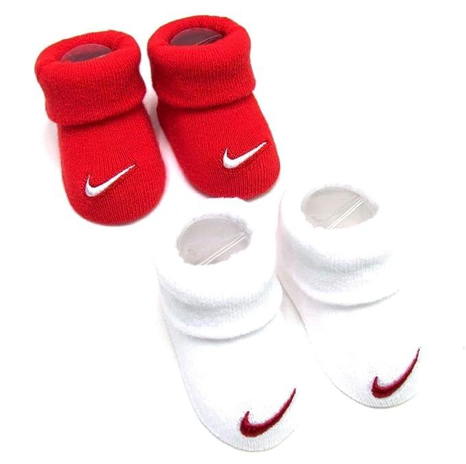 Logo de Nike Baby Infant Botitas Cuna calcetines, 0 - 6 meses, rojo ...