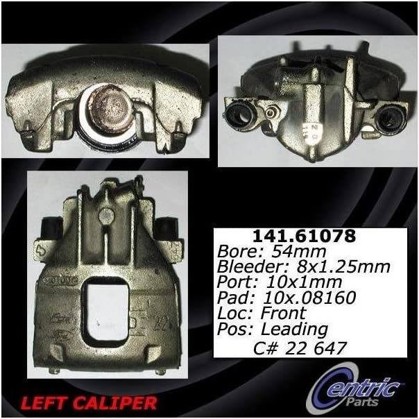 Centric 141.66045 Semi Loaded Caliper