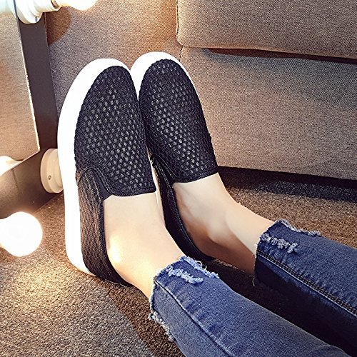 Students Shoes Flat Pedal Forty Korean For Flat Shoes Lazy Breathable Shoes KHSKX Casual Style Leisure Shoes wRTz6qA