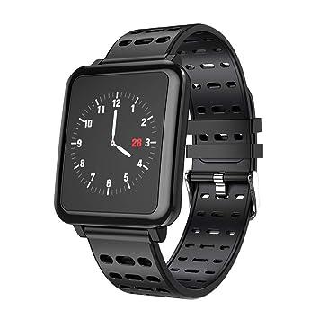 STRIR Smartwatch T2 con Monitor de frecuencia cardíaca, Reloj Inteligente IP67 a Prueba de Agua