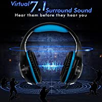 PC Gaming Headset with 7.1 Surround Sound by Beexcellent