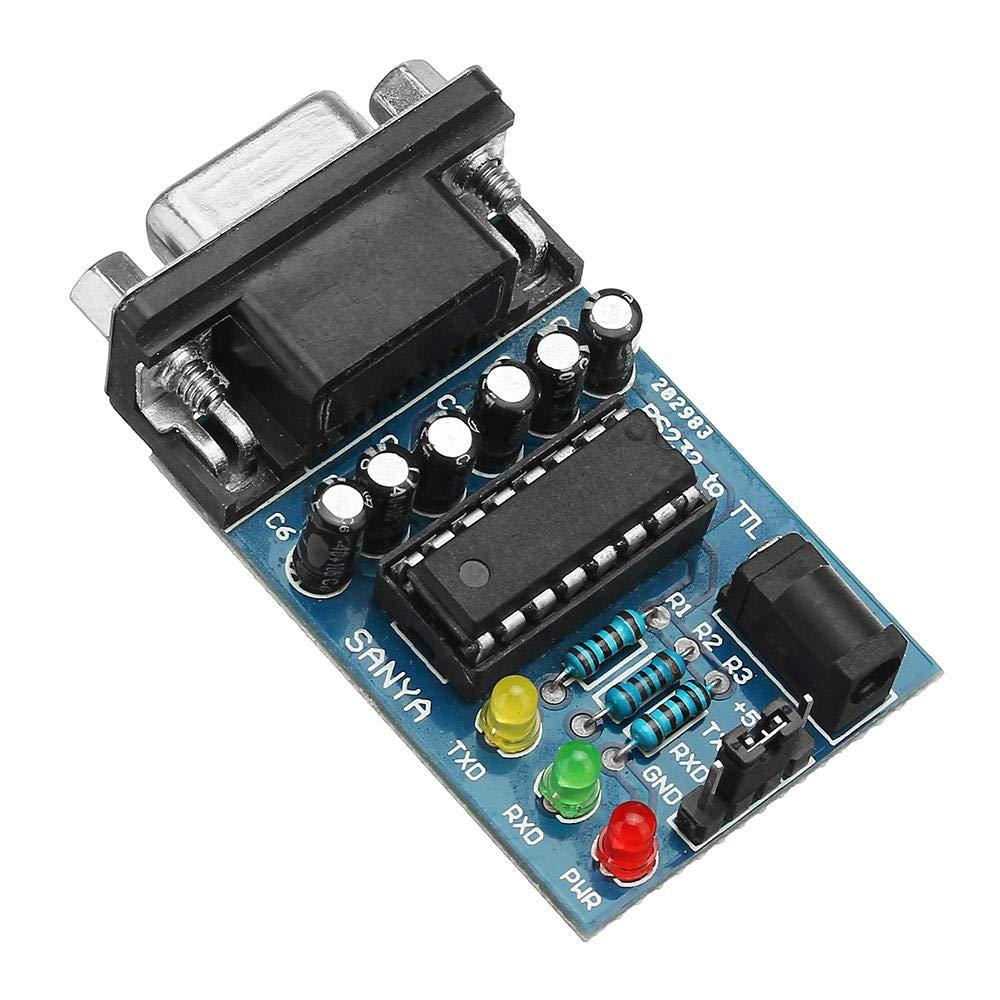 Chip del modulo di trasferimento del convertitore da RS232 a Ttl con Cavi 4PCS Modulo Scheda di Sviluppo