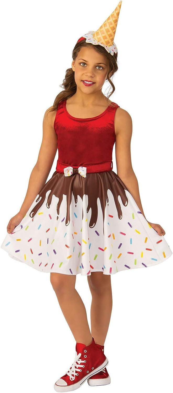 Rubies - Disfraz de Helado para niña, como se Muestra, S: Amazon ...