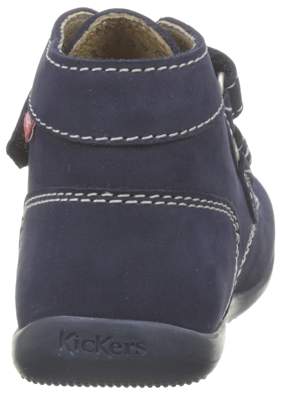 Kickers BONKRO Azul 26 EU Zapatillas Unisex Ni/ños Marine//Bleu 103