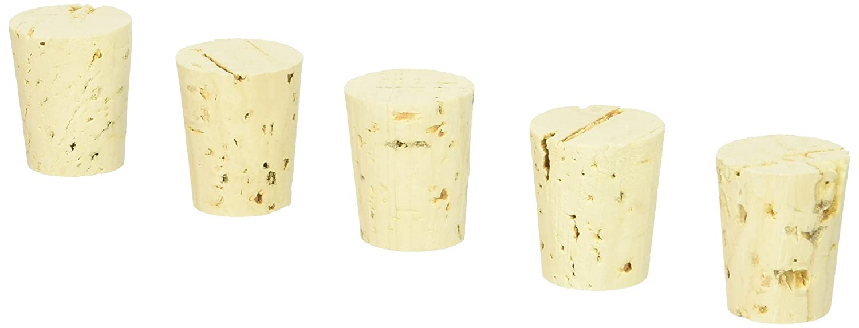 Medium #9 Tapered Corks (for standard wine bottles) Bag of 25 LD Carlson 6W-DHAS-M0Z2