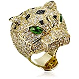 nOir Jewelry Panther Ring