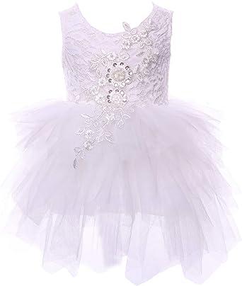 Amazon.com: cilucu vestido de vestidos de niña bebé fiesta ...