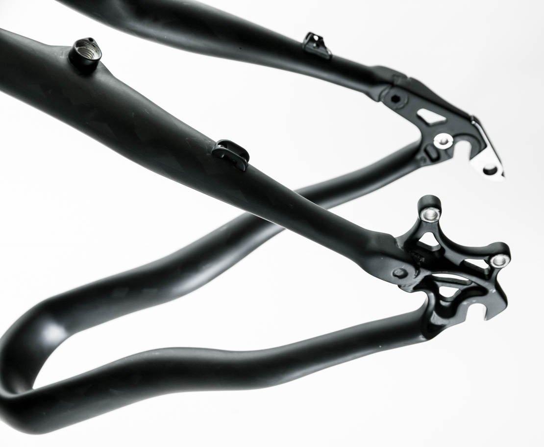 Italian Full Dynamix Moon 21'' Carbon Fiber 26 Hardtail Bike Frame MSRP $1999 NEW by Full Dynamix (Image #4)