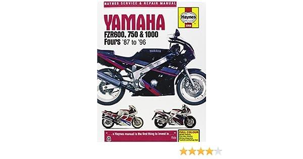 Amazon manual yam fzr600 1000 87 98 automotive fandeluxe Gallery