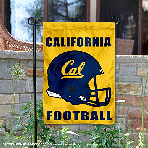 College Flags and Banners Co. University of California Football Helmet Garden Flag ()