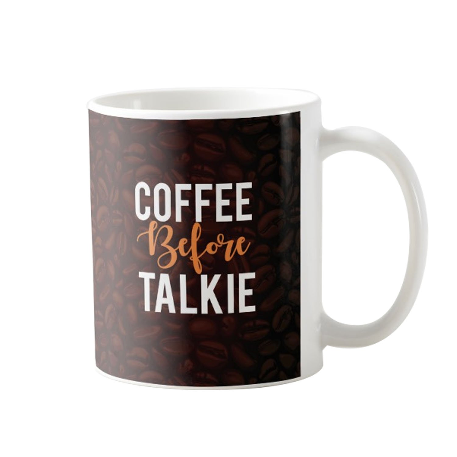 Buy Designer Panda Coffee Before Talkie Birthday Gift For Lovers Gifts Mug Printed Cool Online At