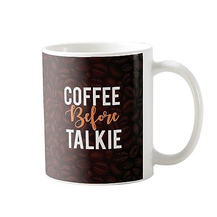 Buy Designer Panda Coffee Before Talkie Birthday Gift For Lovers Gifts Mug Printed Cool Online At