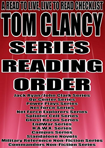 TOM CLANCY: SERIES READING ORDER: A READ TO LIVE, LIVE for sale  Delivered anywhere in USA