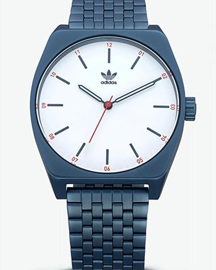 adidas Relojes Hombres Accesorios/Reloj Proceso M1 Azul Tamaño Estándar: Amazon.es: Relojes
