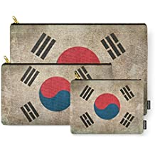 Society6 Old And Worn Distressed Vintage Flag Of South Korea Carry-All Pouch