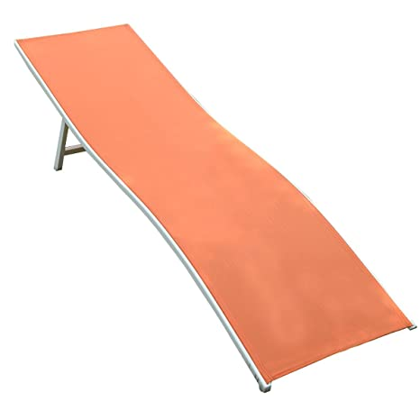 Amazon.com: goplus tumbona chaise longue silla muebles de ...