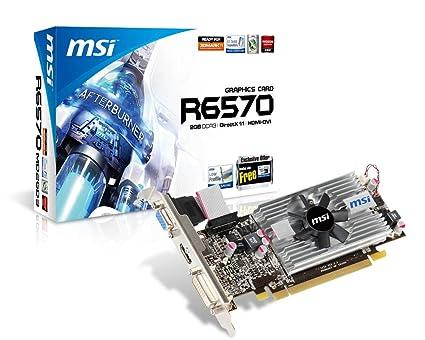 MSI R6570-MD2GD3/LP - Tarjeta gráfica (2560 x 1600 Pixeles ...