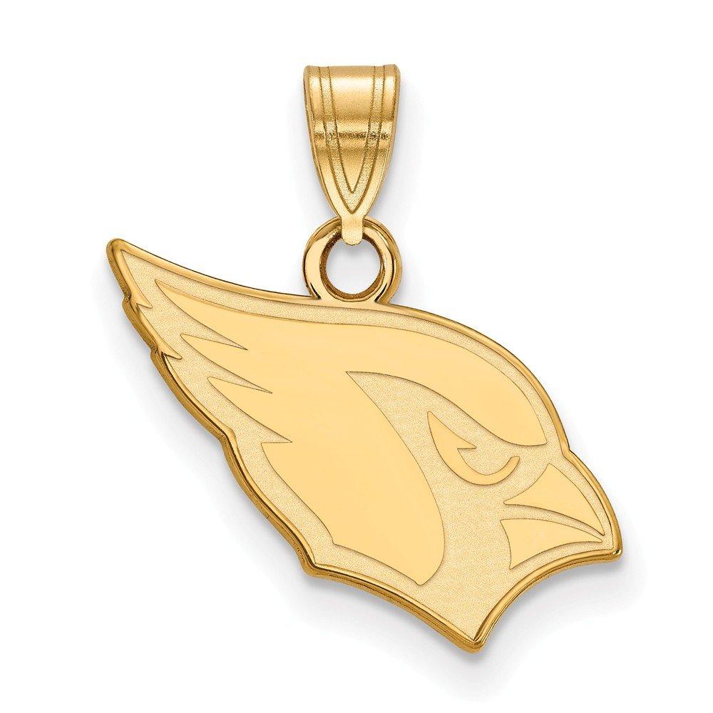 GP Arizona Cardinals Small Pendant Sterling Silver