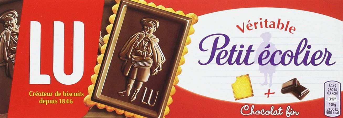 Petit Écolier - Galletas con Tableta de Chocolate Negro, 150 g ...