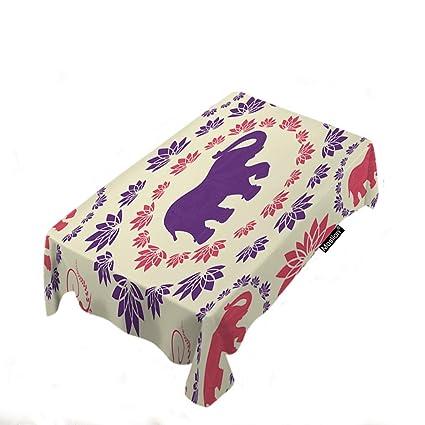 Amazoncom Moslion Elephant Tablecloth Home Decor Bohemian Aztec