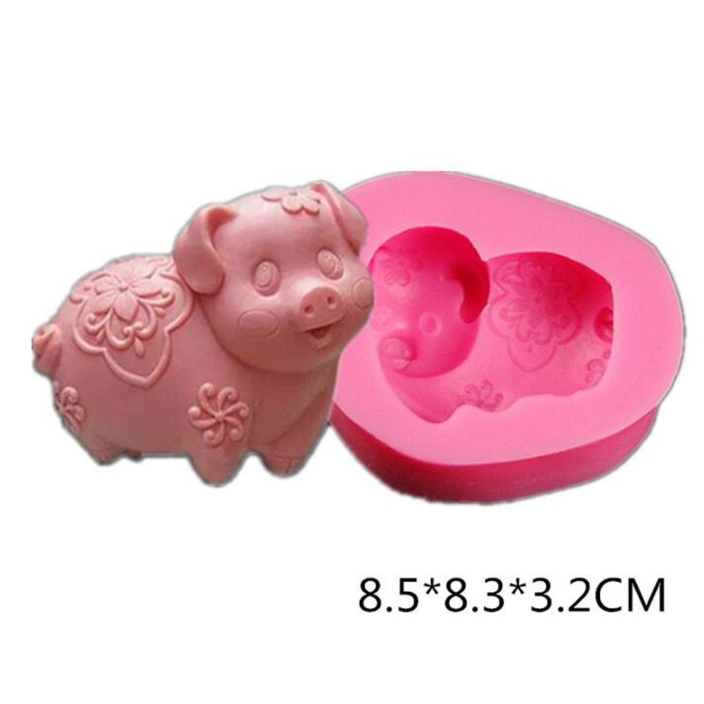 3D Silicone Cake Chocolate Mold Fondant Mould Sugar Craft Candle DIY Tool