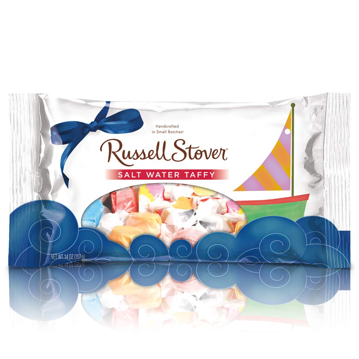 Russell Stover Salt Water Taffy, 14 Ounce (Pack of 12) by Russell Stover