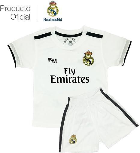 Box 1º Equipo Sergio Ramos Real Madrid JR 2018-2019 Conjunto Niño (T/12): Amazon.es: Deportes y aire libre