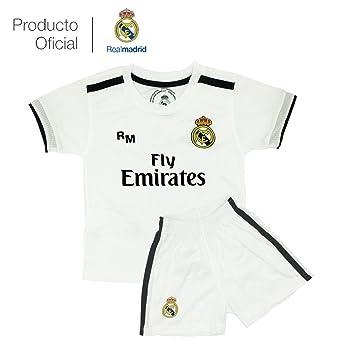 cb245a23d2 Box 1º Equipo Sergio Ramos Real Madrid JR 2018-2019 Conjunto Niño-Incluye  Cinturón Durabol (T/2): Amazon.es: Deportes y aire libre
