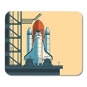 Mouse Pad Pad Rocket está listo para el lanzamiento de la ...
