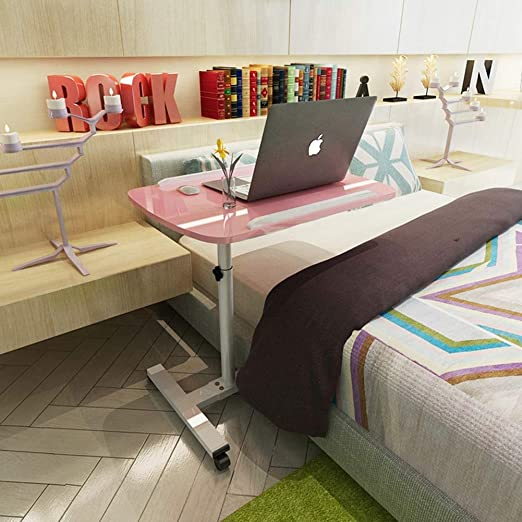 Escritorio plegable para laptop Cama de la cama con ruedas ...
