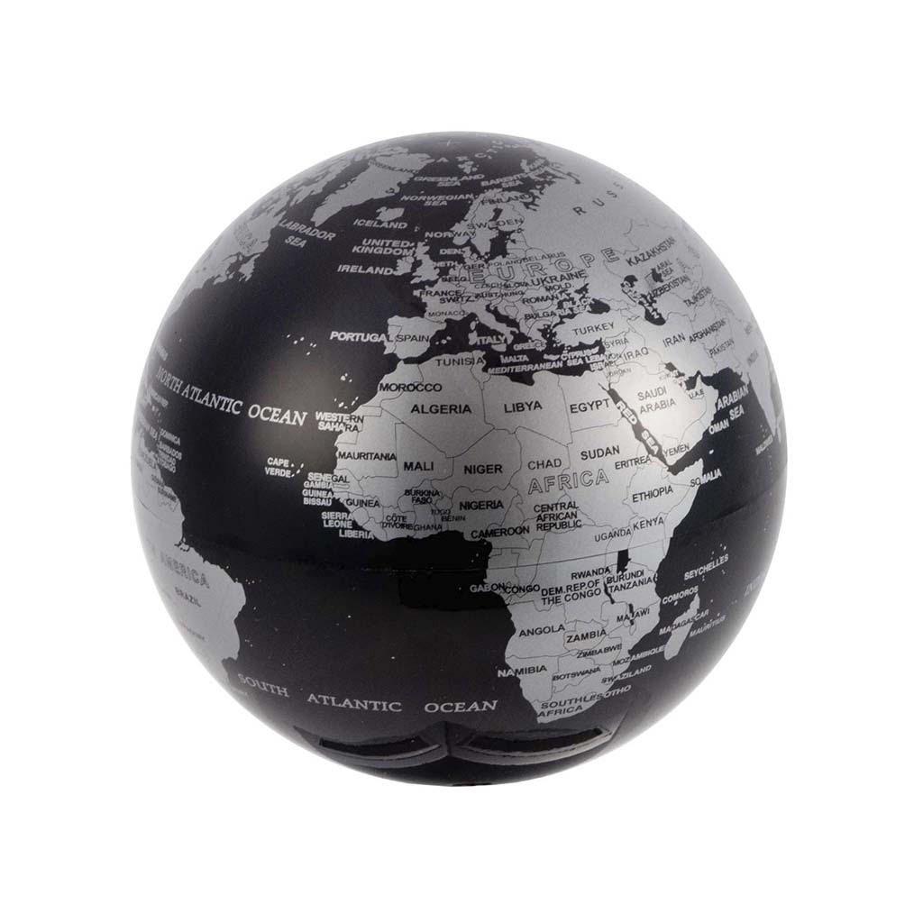 Balvi Mappamondo Magic Colore Nero Ruota 360 °  Plastica PS 14cm Balvi Gifts S.L.