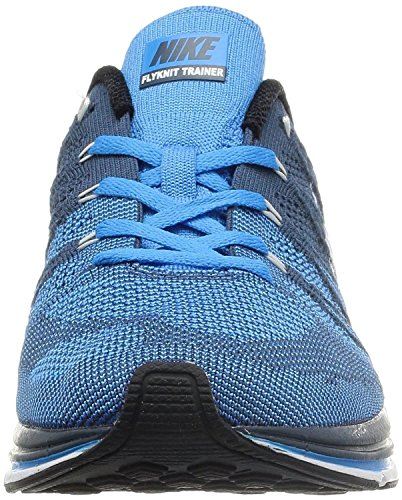 Flyknit Trainer + pattini-squadrone blu / bianco-6.5 Squadron Blue/White